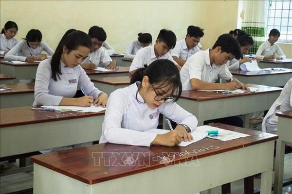 2 kịch bản cho kỳ thi Trung học phổ thông quốc gia 2020