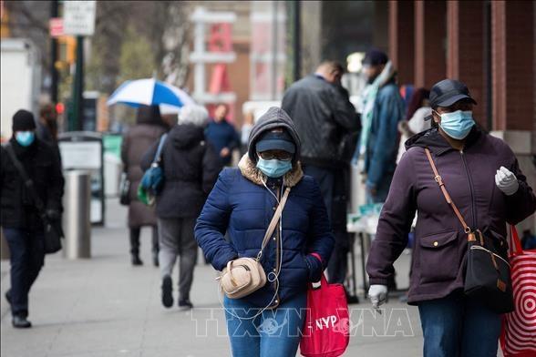 Dịch COVID-19: Lần đầu tiên số ca tử vong tại New York giảm