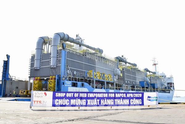 Doosan Vina xuất khẩu thiết bị khử mặn sang Vương quốc Bahrain