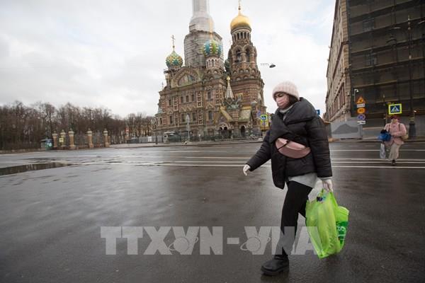 Lần đầu tiên Nga ghi nhận hơn 1.000 ca nhiễm mới trong ngày