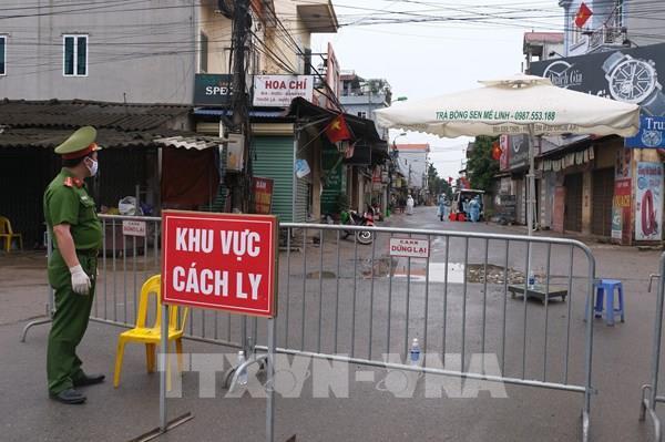 Cách ly thêm thôn Hạ Lôi (Mê Linh) do liên quan với bệnh nhân 243