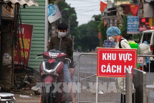 Cách ly y tế tại thôn Hạ Lôi: Sinh hoạt của người dân diễn ra bình thường