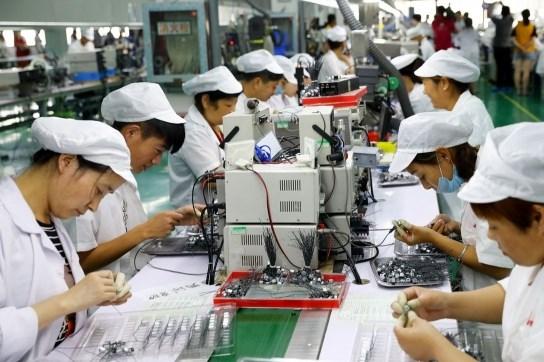 80% nhà máy của doanh nghiệp Nhật Bản tại Trung Quốc đã sản xuất trở lại