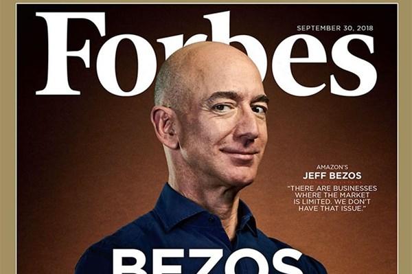 Tỷ phú Jeff Bezos tiếp tục giữ vị trí người giàu nhất thế giới năm 2020