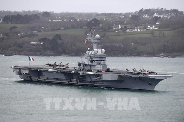 Tàu sân bay của Pháp trở về nước do xuất hiện các trường hợp nghi mắc COVID-19