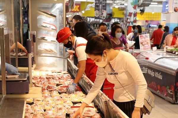Big C giảm giá từ 6 - 25% tất cả các sản phẩm thịt lợn