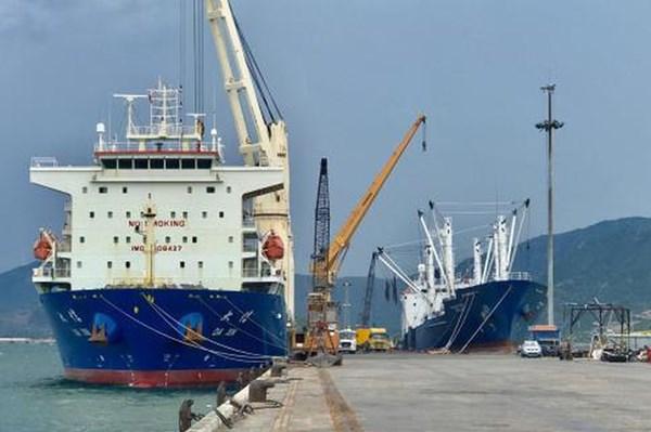Sản lượng hàng hoá thông qua các cảng biển không bị tác động nhiều do dịch COVID-19