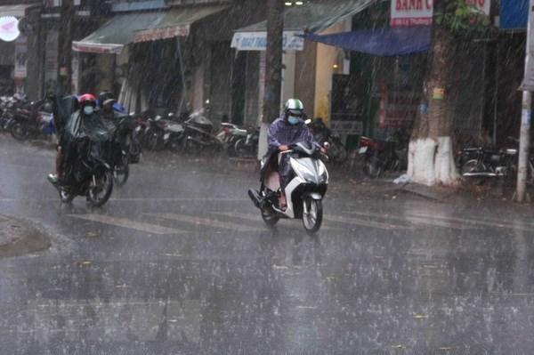 Dự báo thời tiết ngày 9/4: Nhiều khu vực có mưa và dông