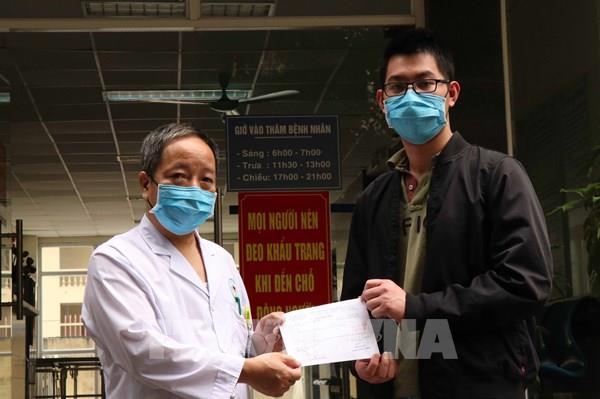 Dịch COVID-19: Thêm 1 bệnh nhân được công bố khỏi bệnh