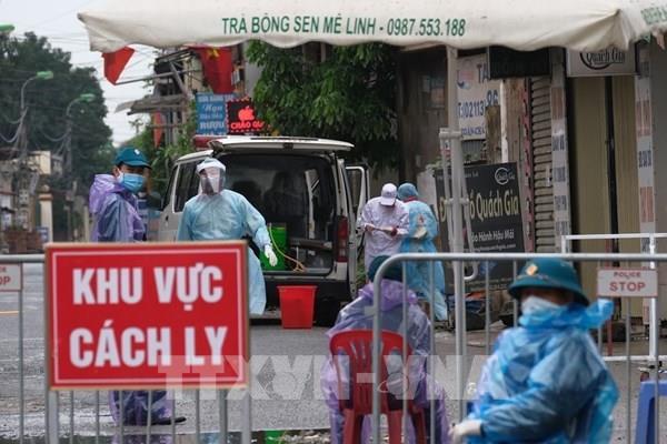 Bộ Y tế cử tổ công tác đặc biệt hỗ trợ Hà Nội dập dịch COVID-19 từ ngày 10/4