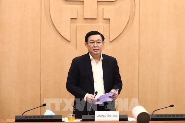 Bí thư Thành ủy Hà Nội: Tuyệt đối không được chủ quan, lơ là trong phòng chống dịch