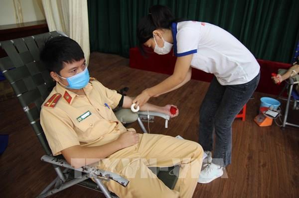 Cán bộ, chiến sỹ Công an tỉnh Đắk Nông hiến hơn 200 đơn vị máu