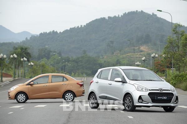 """Hyundai Grand i10 """"dẫn dắt"""" doanh số trong phân khúc xe cỡ nhỏ hạng A"""