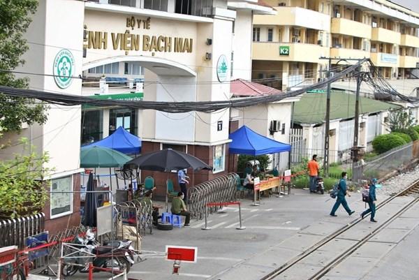 0h ngày 12/4 Bệnh viện Bạch Mai sẽ được dỡ bỏ phong toả