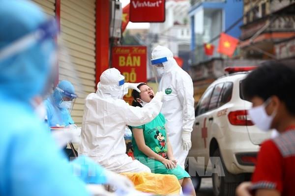 Những người liên quan đến chợ hoa Mê Linh cần liên hệ ngay với cơ quan y tế