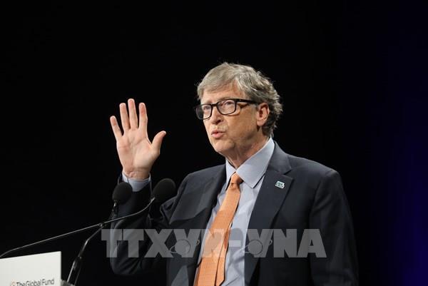 Quỹ từ thiện của tỷ phú Bill Gates tài trợ thêm 150 triệu USD chống dịch COVID-19