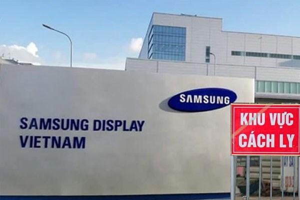 Dịch COVID-19: Samsung tạm dừng hoạt động phân xưởng nơi bệnh nhân số 262 làm việc