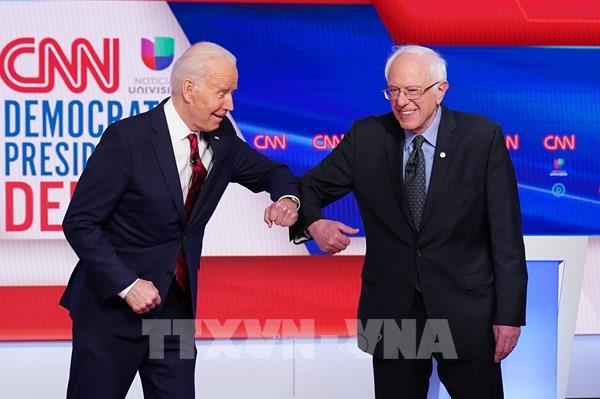 Bầu cử Mỹ 2020: Ông Sanders tuyên bố ủng hộ ứng cử viên tổng thống Biden