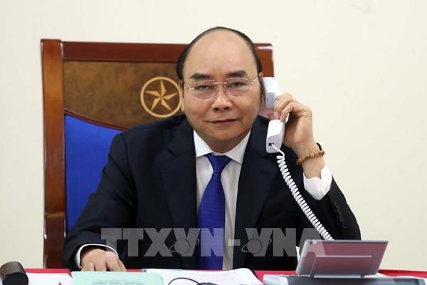 Thủ tướng Chính phủ Nguyễn Xuân Phúc điện đàm với Thủ tướng Thụy Điển