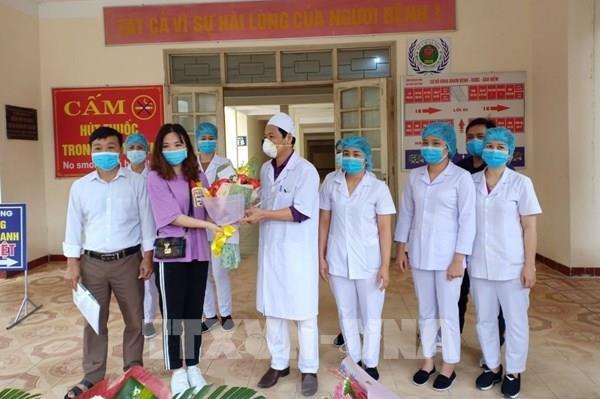 Bệnh viện tuyến huyện đầu tiên của Hà Tĩnh điều trị khỏi COVID-19
