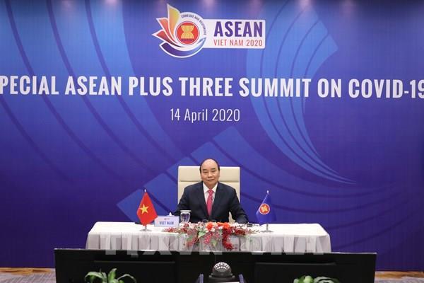 Thủ tướng trả lời về kết quả HN Cấp cao Đặc biệt ASEAN và ASEAN+3 về Ứng phó dịch COVID-19
