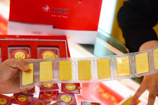 Giá vàng trong nước sáng 22/4 vẫn ở mức trên 48 triệu đồng/lượng