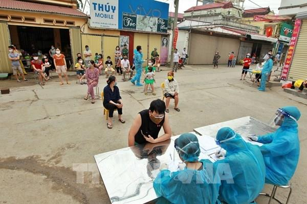 Cập nhật mới nhất tại ổ dịch thôn Hạ Lôi: Đã lấy 11.847 mẫu xét nghiệm virus SARS-CoV-2