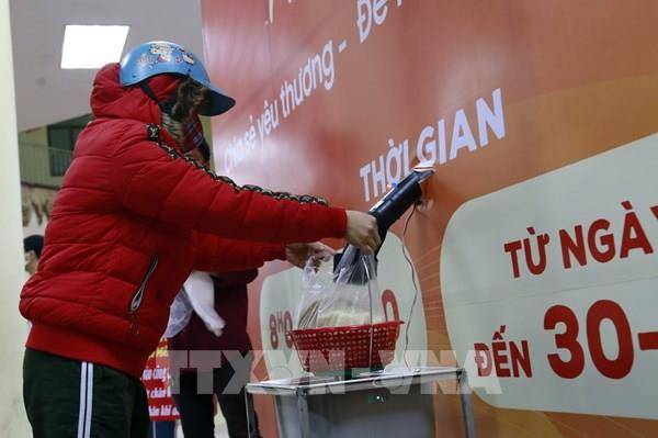 """Ấn Độ triển khai """"ATM gạo"""" hỗ trợ người nghèo giống Việt Nam"""