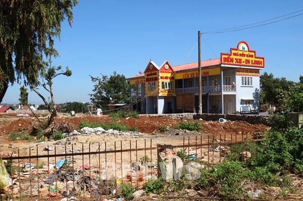 Lâm Đồng yêu cầu chủ đầu tư tháo dỡ công trình không phép tại Bến xe Di Linh
