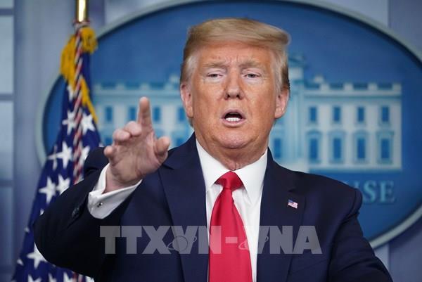Tổng thống Mỹ tuyên bố sẽ tạm thời đóng băng quỹ tài trợ cho WHO