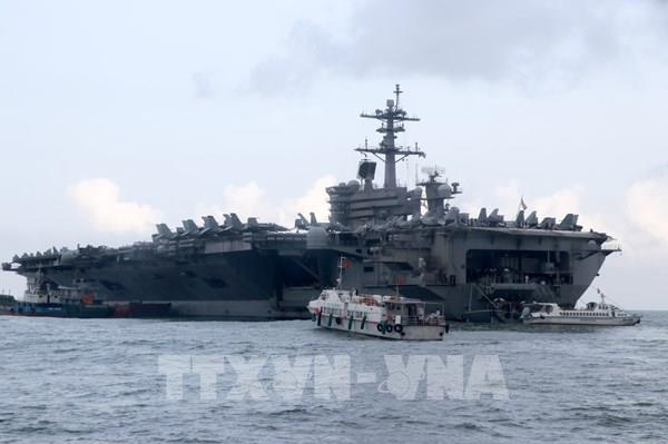 Mỹ loại khả năng ổ dịch COVID-19 trên tàu USS Theodore Roosevelt từng tới Việt Nam