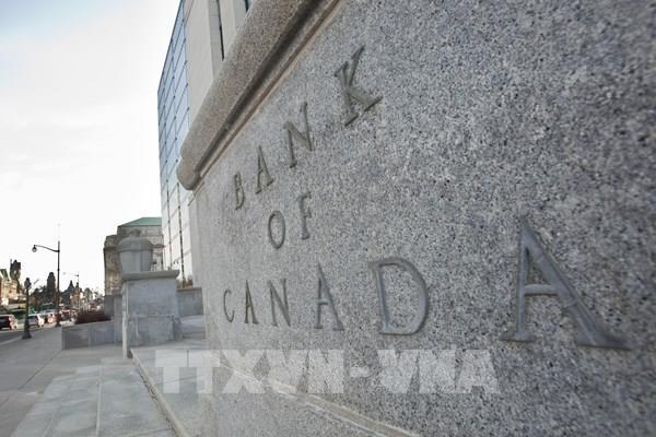 Canada giữ nguyên lãi suất chủ chốt, hỗ trợ thị trường tín dụng