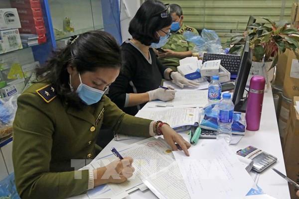 Dịch COVID-19: Tuyên Quang xử phạt 13 trường hợp vi phạm kinh doanh vật tư y tế