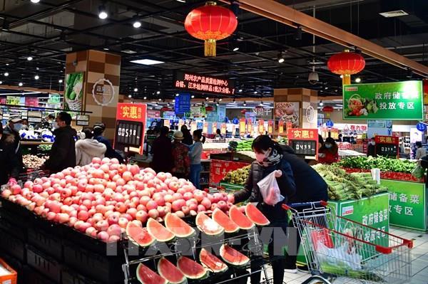 Doanh số bán lẻ của Trung Quốc giảm 19% trong quý I/2020