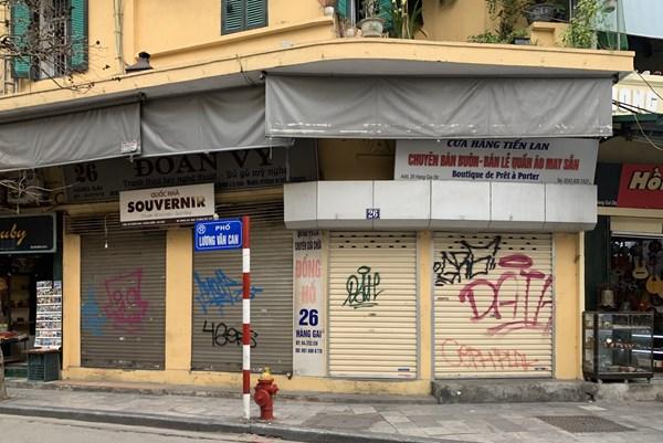 Hà Nội: Từ 4/5, cửa hàng kinh doanh mặt hàng không thiết yếu mở cửa sau 9h