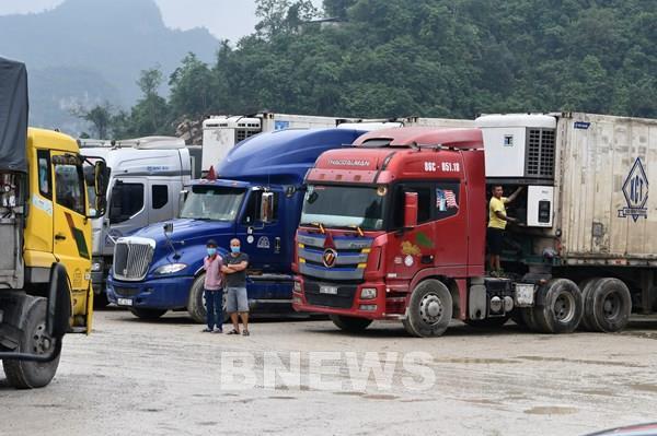 Các tỉnh phía Nam tạm thời chưa đưa hàng nông sản ra cửa khẩu Lạng Sơn