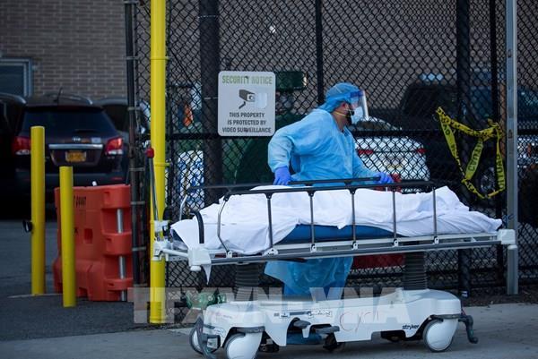 Dịch COVID-19: Số ca tử vong tại Mỹ vượt mốc 40.000