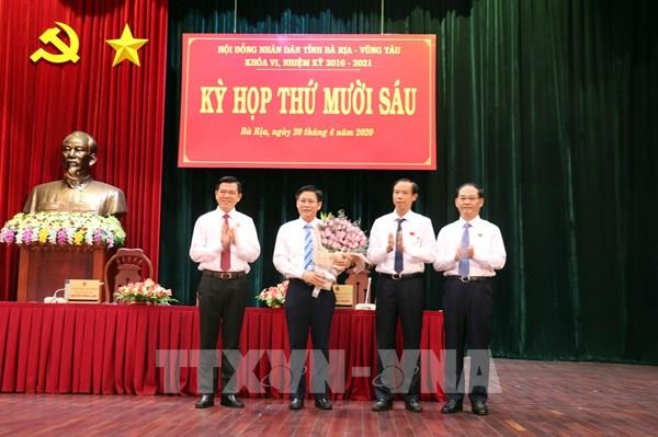 Ông Lê Ngọc Khánh được bầu làm Phó Chủ tịch UBND tỉnh Bà Rịa-Vũng Tàu 