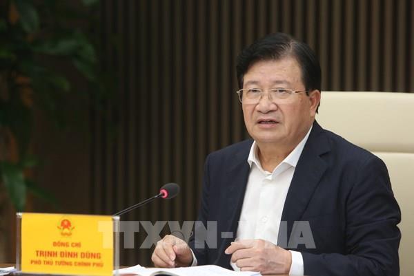 Phó Thủ tướng chỉ đạo về giải pháp điều hành xuất khẩu gạo