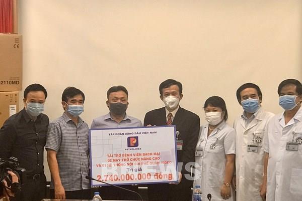 Dịch COVID-19: Petrolimex ủng hộ hơn 14 tỷ đồng phòng chống dịch