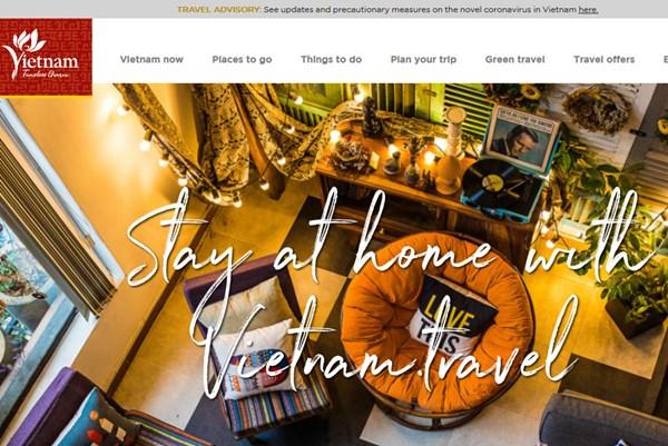 """""""Ở nhà cùng Việt Nam"""" truyền cảm hứng cho du khách quốc tế"""