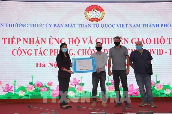 Dịch COVID-19: Hà Nội tiếp nhận ủng hộ hơn 101 tỉ đồng
