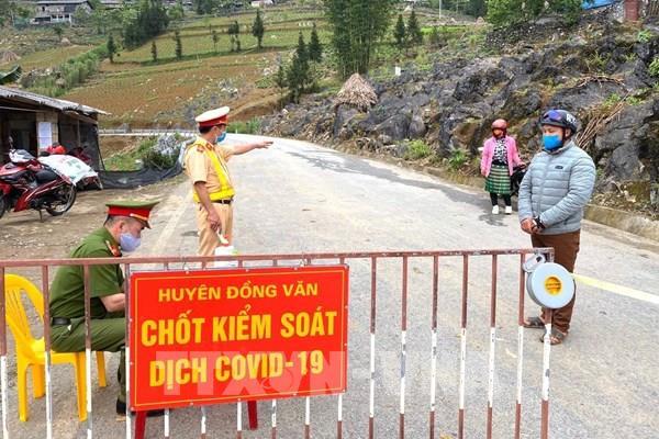 Dịch COVID-19: Hà Giang kết thúc khoanh vùng cách ly từ 0h ngày 30/4