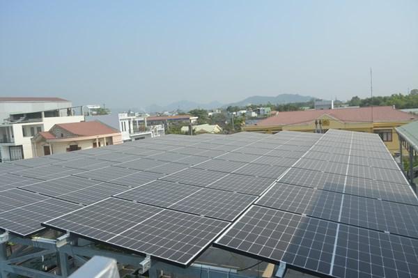 Thêm 2 dự án điện mặt trời áp mái tại Bình Định được hòa lưới điện