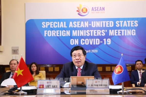 ASEAN 2020: ASEAN hợp tác với Hoa Kỳ ứng phó dịch COVID-19