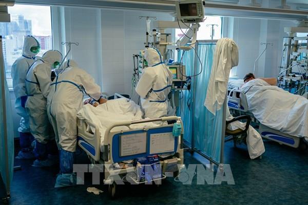 Nga có hơn 9.600 người nhiễm mới SARS-CoV-2 trong 24 giờ