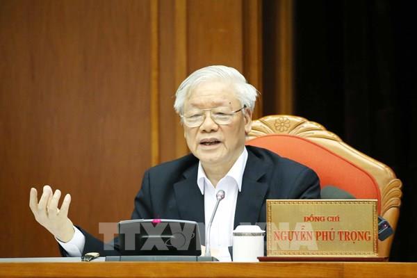 Tổng Bí thư: Một số vấn đề cần được quan tâm trong chuẩn bị nhân sự Đại hội Đảng XIII