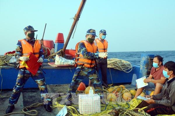 Kết thúc kiểm tra liên hợp nghề cá Việt Nam - Trung Quốc lần thứ nhất năm 2020
