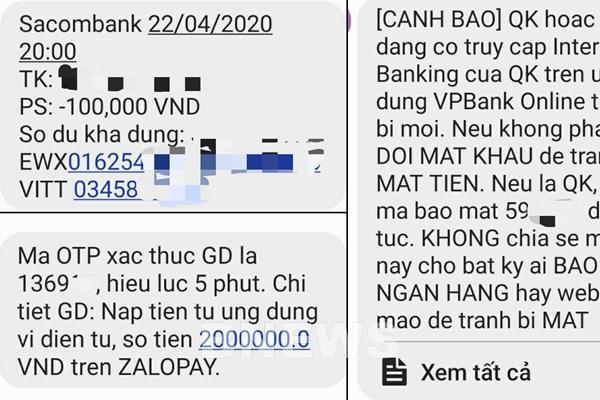 Đề nghị nhà mạng giảm cước tin nhắn ngân hàng