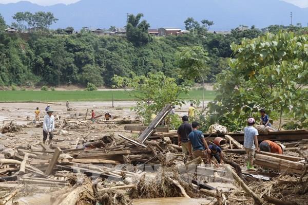 Mưa lũ gây ngập hàng trăm ngôi nhà ở Hà Giang, 3 người thương vong